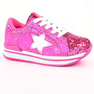 ZAPATILLAS CON LUCES NIÑO FOOTY UP HOLOGRAMA